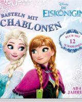 Basteln mit Schablonen – die Eiskönigin