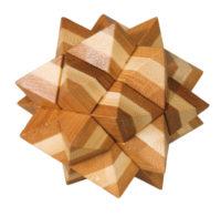 Bambuspuzzle – Stern