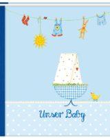 Baby-Album, blau